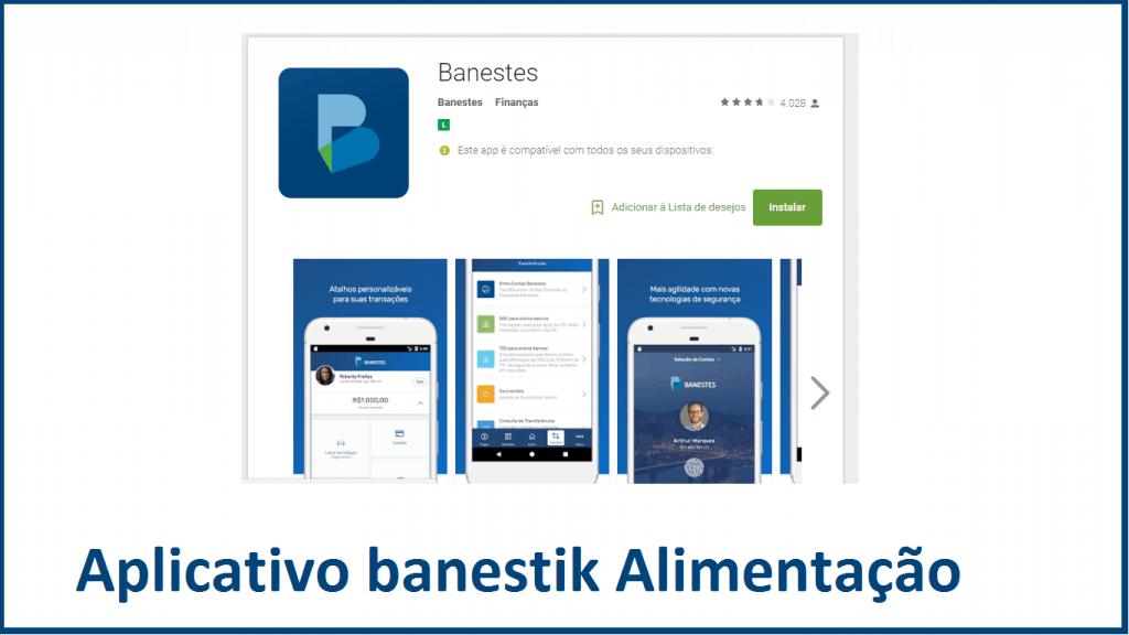 aplicativo banestik