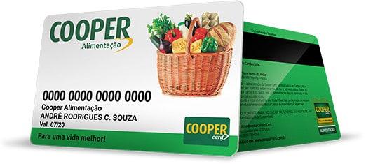 cartao alimentacao coopercard