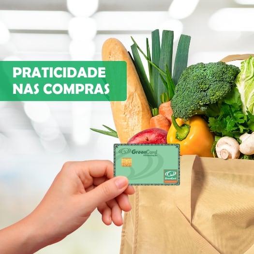 onde aceita o cartão green card alimentação