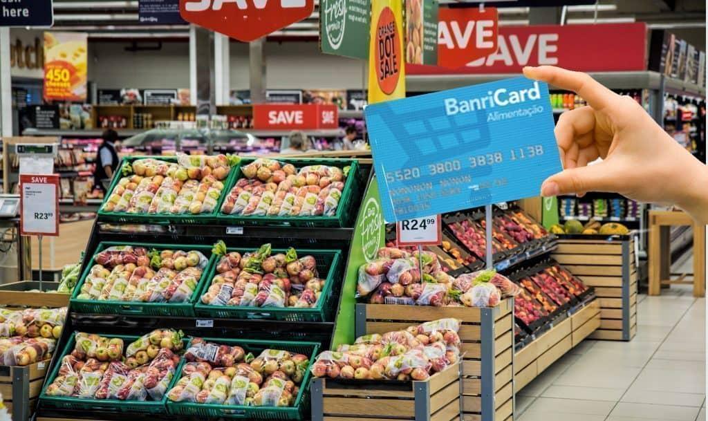 Cartão Banricard Alimentação