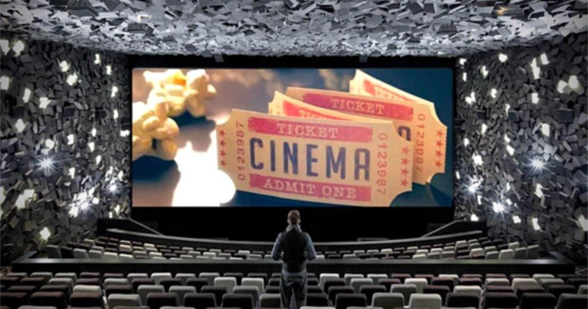 Ticket Cinema ingresso